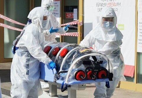 連日感染者が増え続けているバ韓国