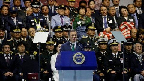 中国と日本を攻撃する気マンマンのバ韓国軍
