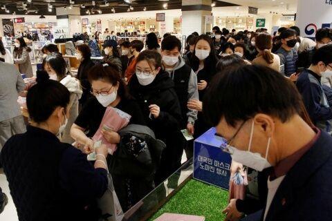 バ韓国塵風情に防疫なんて不可能です