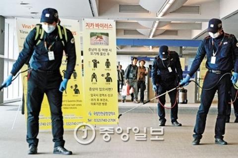 ジカ熱大流行寸前のバ韓国