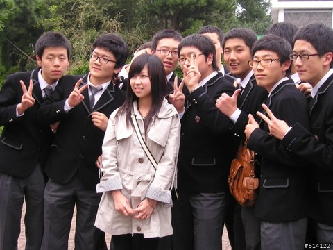 化け物ヅラしか存在しないバ韓国の中高生www
