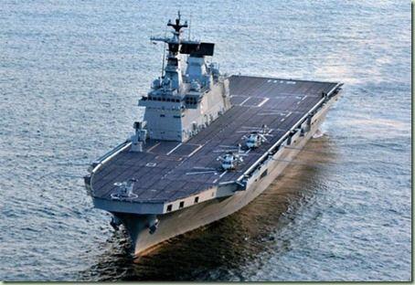 バ韓国が大型準空母の開発を目指す