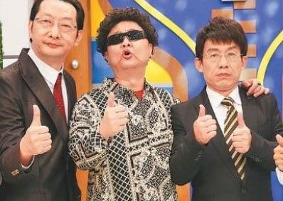 写真一番右が台湾の人気司会者・郭子乾(グオ・ツーチエン)氏