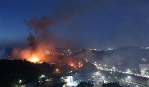 朝鮮半島中が火の海になりますように