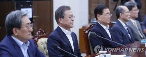 チョ・グクの辞任で謝罪したバ韓国の文大統領