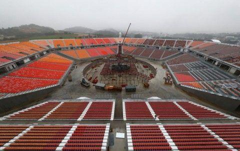 バ韓国塵の8割が「平昌冬季五輪は成功」