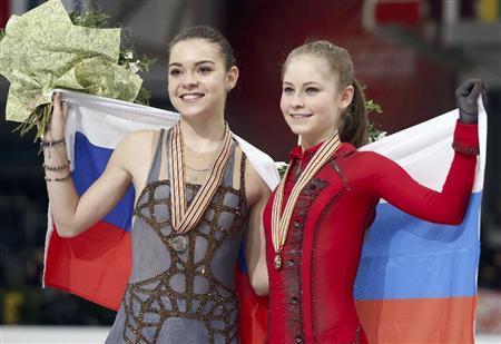 ソトニコワとリプニツカヤ。