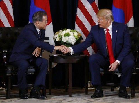 米韓首脳会談。バ韓国の話題よりも北朝鮮のことばかり
