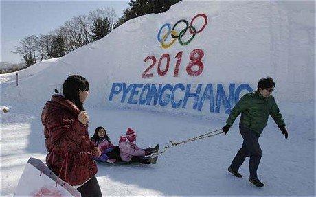 平昌冬季五輪はあくまで開催予定