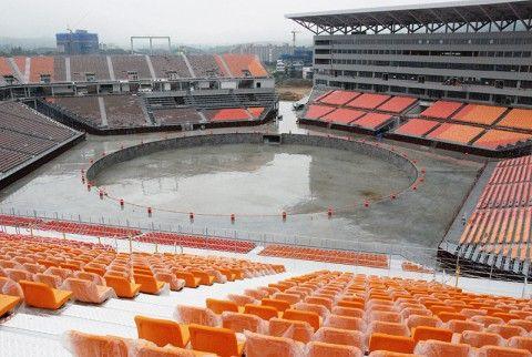 取り壊しが決定したバ韓国・平昌冬季五輪のメインスタジアム