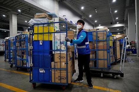 バ韓国の宅配業務で9匹が過労死中