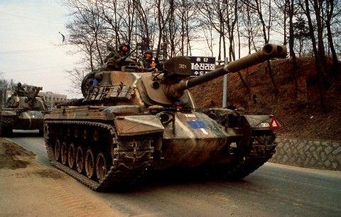 バ韓国の役立たず戦車M48