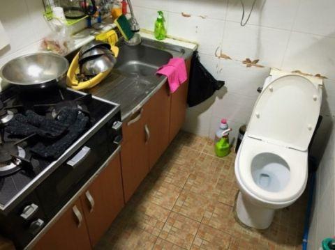 バ韓国では糞も料理も同じ場所