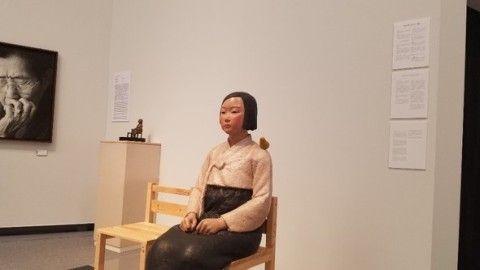 あいちトリエンナーレで展示されていたバ韓国の売春婦像