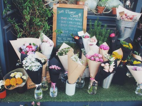 バ韓国塵の分際で花屋とかwwwwwww
