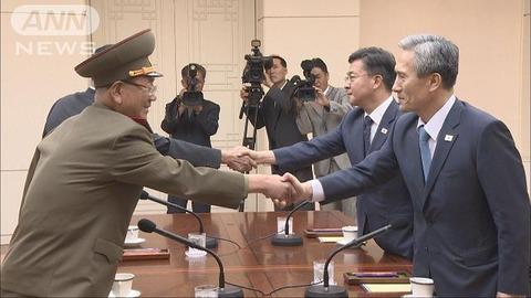南北会談中、バ韓国のアチコチで花火がさく裂とかwwwww