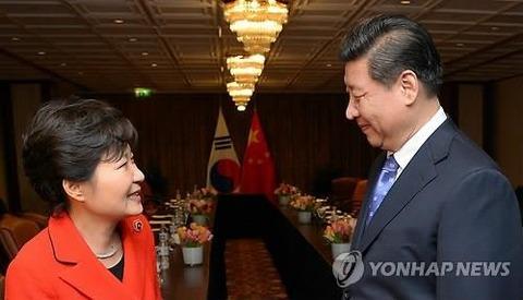 中国と運命共同体のバ韓国