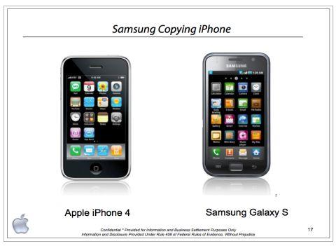 アップルの劣化コピーしか造れないバ韓国のサムスン