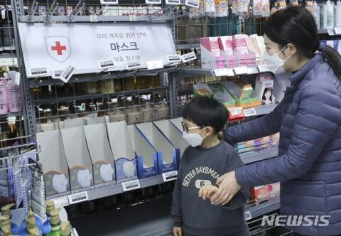 バ韓国でマスクの品切れ発生中