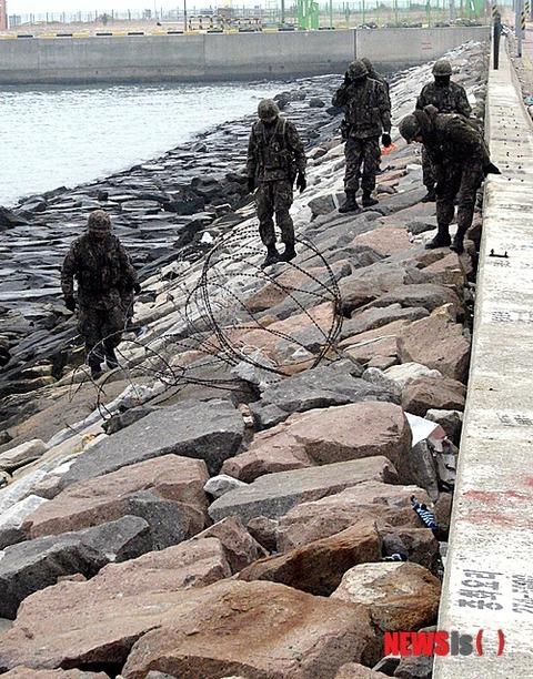 バ韓国陸軍の脱走兵、遺体で発見される!