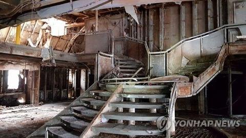 沈没して4年後に公開されたバ韓国のセウォル号