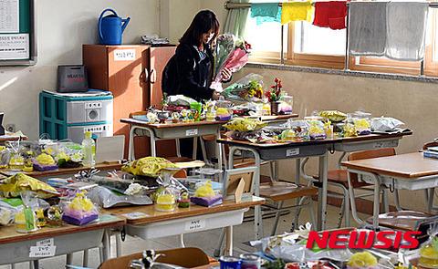 バ韓国中の学校教室がこうなりますように