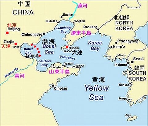 渤海湾の汚染でアルとニダの滅びが加速