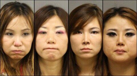 アメリカで売春している自称日本人のバ韓国売春婦