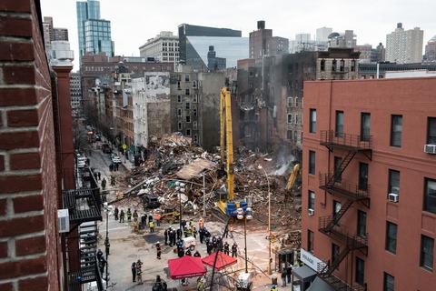 韓国塵が経営する「寿司」店のあるビルが崩壊