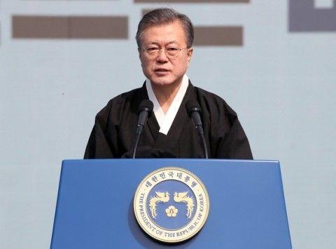 バ韓国を終わらせようと必死な文大統領