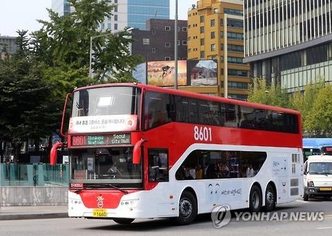 いよいよバ韓国で2階建てバスが運行開始