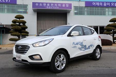 バ韓国・現代自動車の燃料電池車「ツーソンix35FCV」