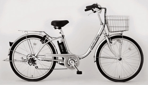 屑在日企業・永山の電動自転車「ギャラクシーパワー」