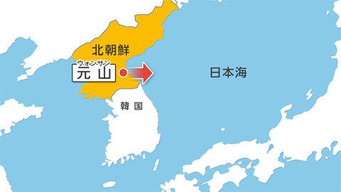 北朝鮮のミサイル発射でバ韓国が大慌て