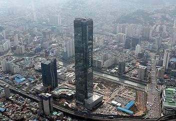 釜山の国際金融センター