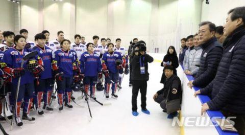 選手の意向を自分の都合で無視するバ韓国・文在寅