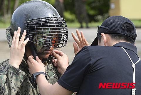バ韓国軍のイジメを解決するための最終兵器登場