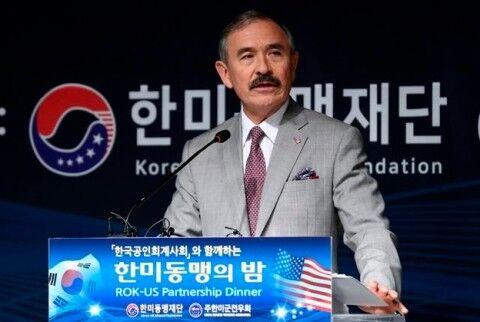 バ韓国で襲われ続けているハリス大使