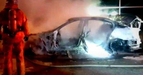 バ韓国のBMW火災、屑チョンによる自作自演