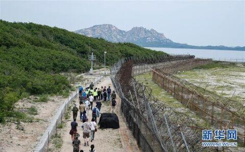 DMZを観光コースにするバ韓国政府