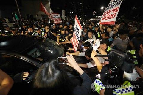 バ韓国・キム・ギチュン元大統領秘書室長が釈放