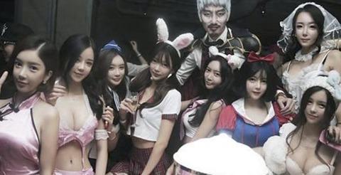 バ韓国のハロウィンといったらコレでしょうwwww