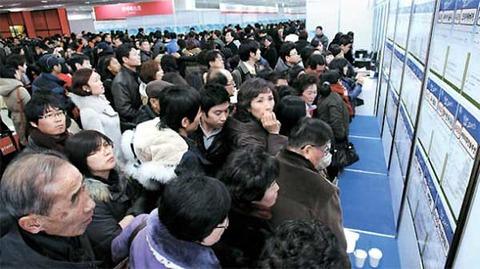 老いも若きも失業者だらけのバ韓国