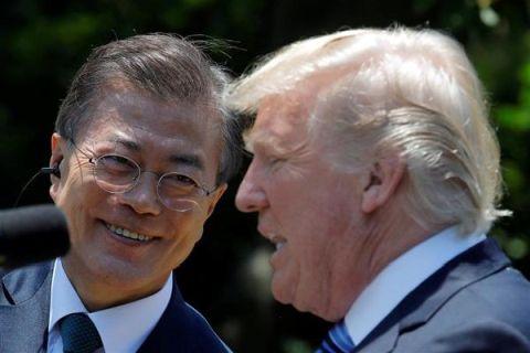 支持率最低値を更新したバ韓国・文在寅大統領