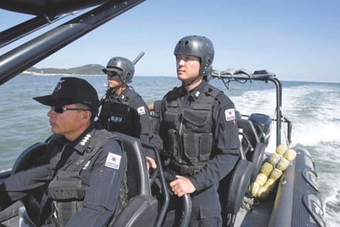 カナヅチだらけのバ韓国海洋警察ww