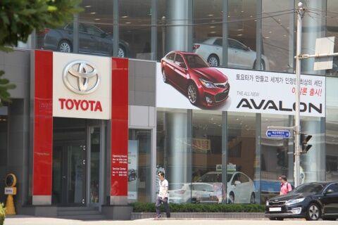 バ韓国でレクサスの売り上げが好調