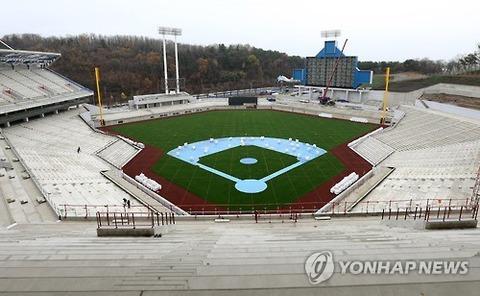 バ韓国のプロ野球チーム・サムスンの新球場