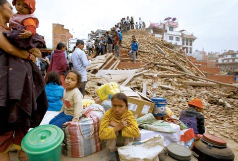 ネパール地震への支援を発表した大韓航空