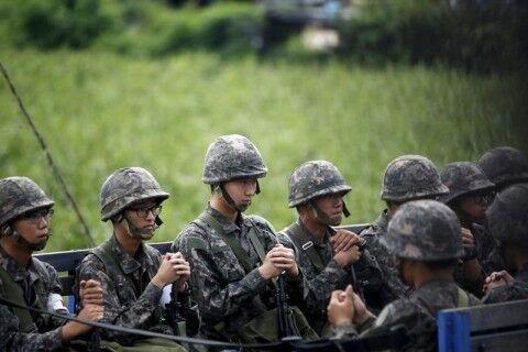 有事の際に我先にと逃げ出すのがバ韓国軍の兵士