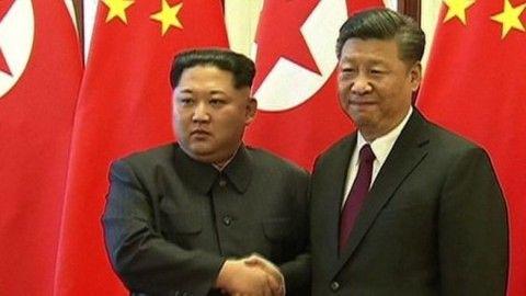 中朝首脳会談に期待を寄せるバ韓国塵ども